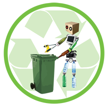 Imágen Urbana del Sureste en Cancun, Venta y distribución de contenedores de basura en todo México